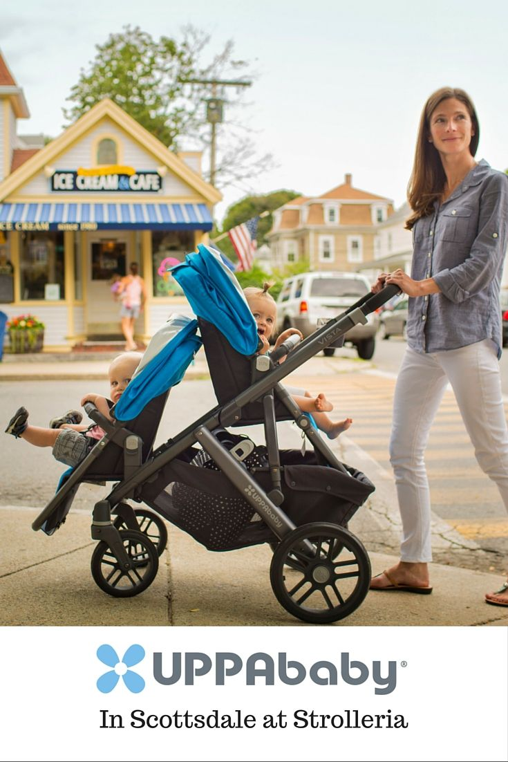 The UPPAbaby VISTA stroller does it all—times two! Add a