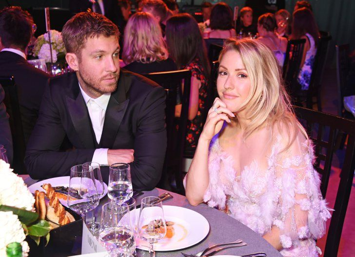 Calvin Harris Has a Night Out With Ex-Girlfriend Ellie Goulding Amid Taylor Swift Split News