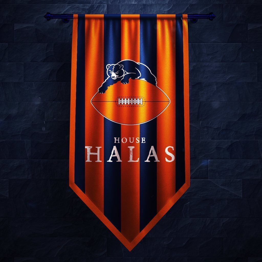 Pin by brandon the archivist on man cave chicago bears - Chicago bears phone wallpaper ...