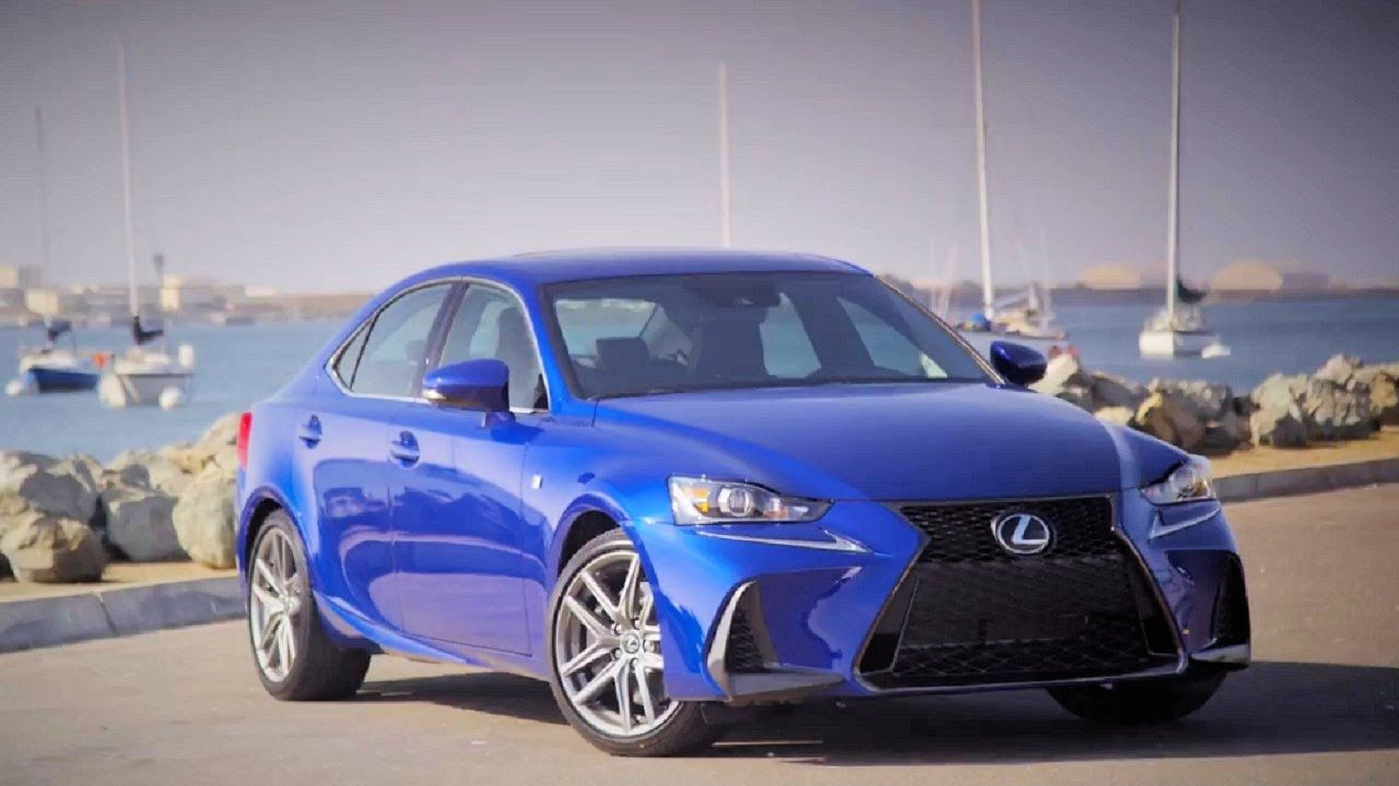 2017 Lexus IS350 FSport Interior and Exterior Lexus