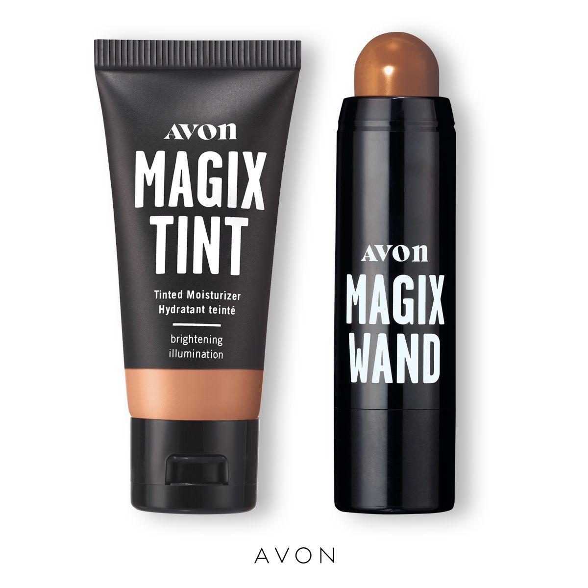 Magix Tint Brightening Tinted Moisturizer & Magix Wand Foundation