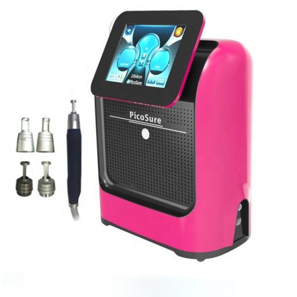 US $997.50  5% Off   Portable Picosure picosecond Q Switched ND YAG Laser 532Nm 755Nm 1064 Nm 1320 Nm picoseound Laser Tattoo Removal Machine