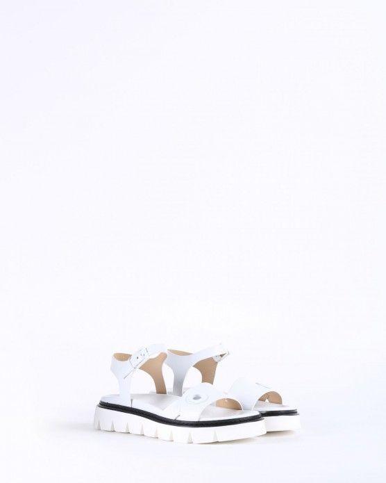 Icebergicebergwhitesandals Eyelet With Buckle Sandals And rCBexod