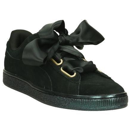 7a1ed09e96c Puma Suede Heart Sneaker Zwart   SCHOENENTORFS.NL   Gratis verzend en retour