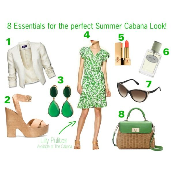 8 Essentials for the Perfect Summer Look!, created by taraneh-christine-kameli on Polyvore