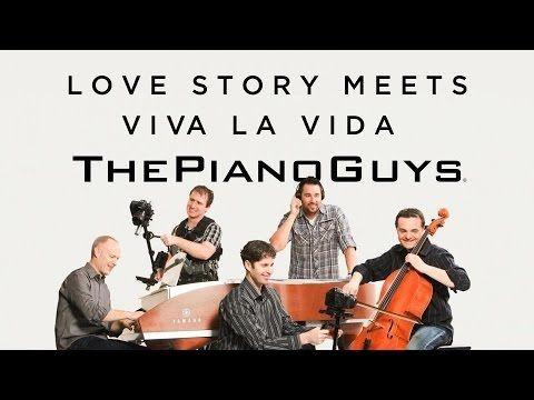 Love Story Meets Viva La Vida The Piano Guys Piano Man Piano Piano Music