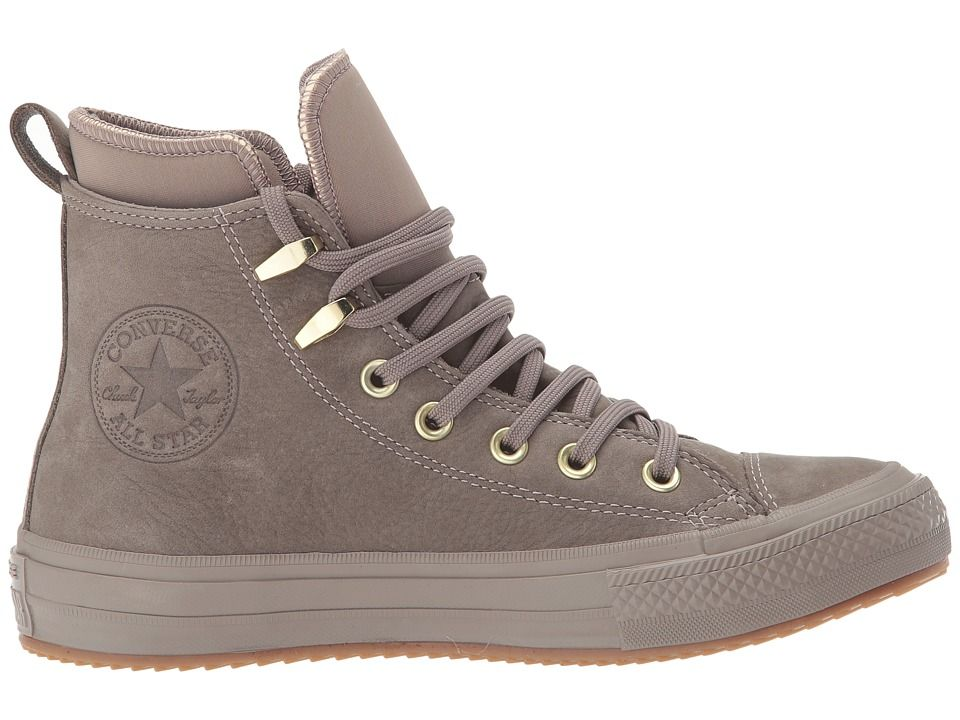 eb7dd18d06e2a7 Converse Chuck Taylor(r) All Star(r) Waterproof Boot Nubuck Hi Women s  Waterproof Boots Malt Malt Brass