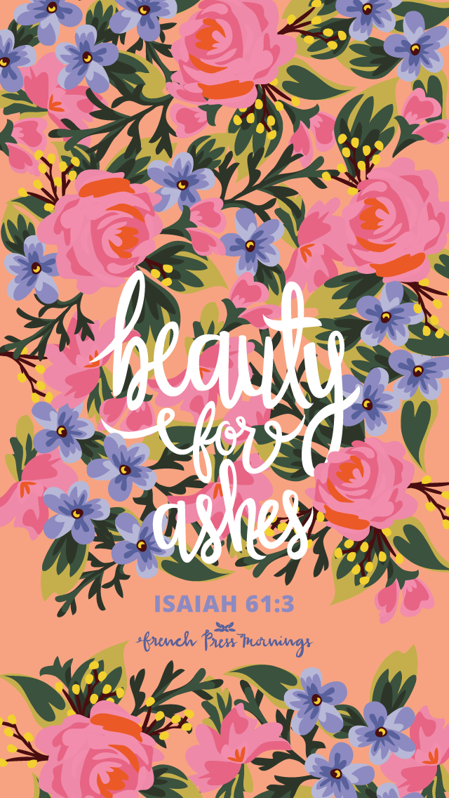 Isaiah 613 By French Press Mornings Bible Verse Typography