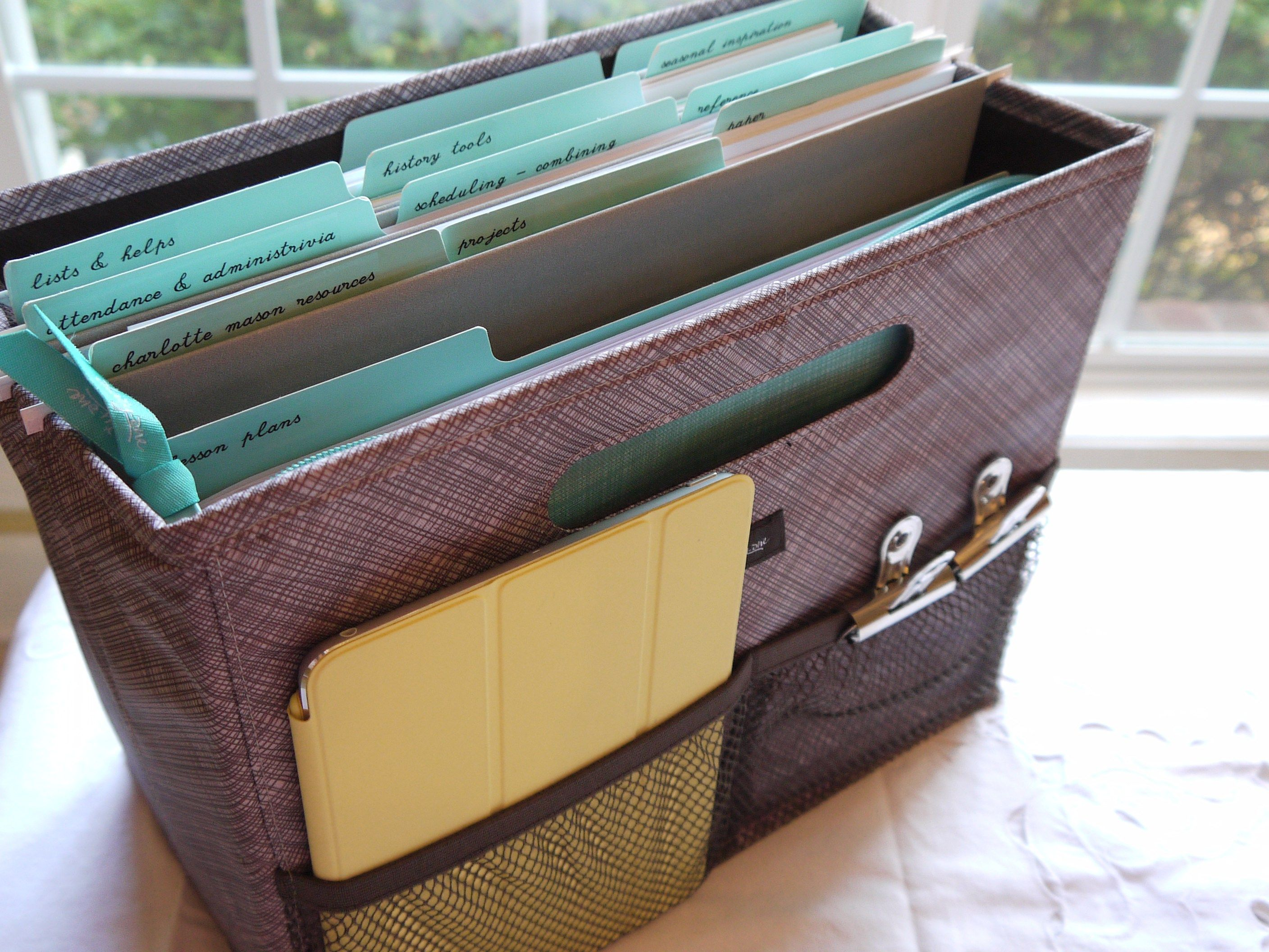 Thirty one november customer special 2014 - My Desk In A Bag Thirty One Gifts Organizing Utility Tote