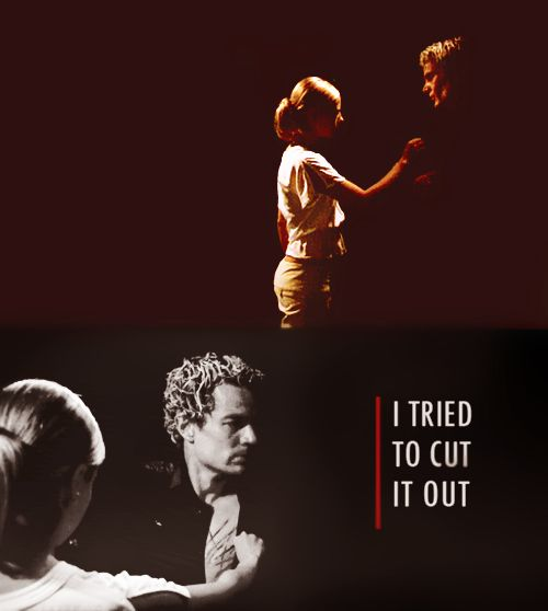 """What did you do?"" ""I tried to cut it out."" - Lessons (S7 E1) I just want to say that even though Sarah didn't particularly love this pairing, it was my favorite. Angel was cursed with a soul. Their love was tragic, but it could never be. But Spike fell for Buffy of his own accord and did everything to be with her. He was there for her when no one could understand what she was dealing with. He was there for Dawn through EVERYTHING. He chose to go through the agony and hardships of getting a…"