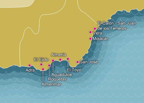 Pin En Costa De Almería Playas De España Beaches Of Spain