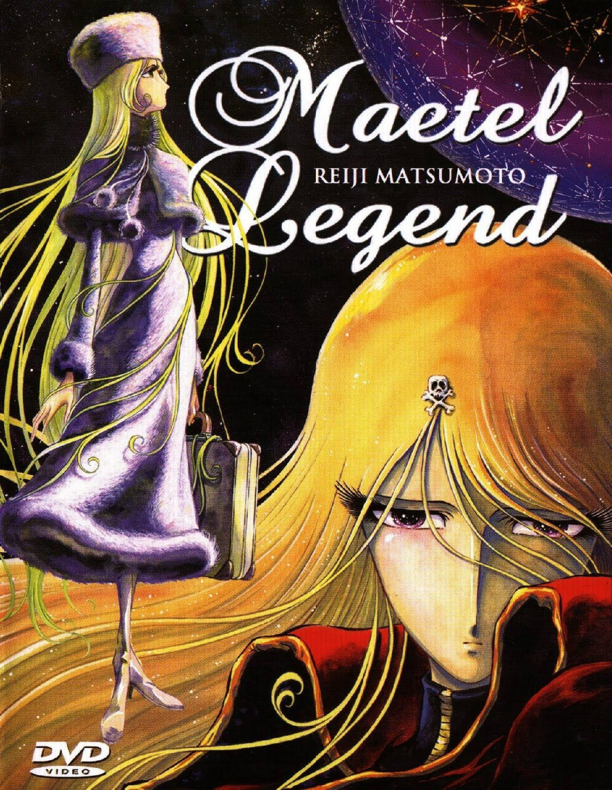 """Maetel Legend"" (メーテルレジェンド Mēteru Rejendo) is a 2000 anime"