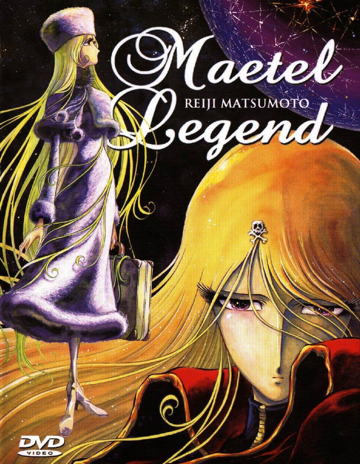 """""""Maetel Legend"""" (メーテルレジェンド Mēteru Rejendo) is a 2000 anime"""