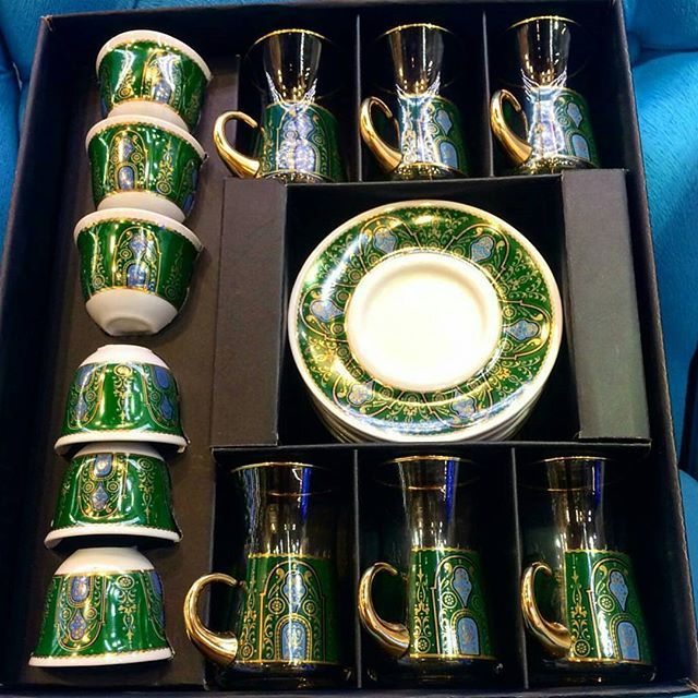 Pin By Shafak Store On اواني Coffee Set Arabic Coffee Glassware