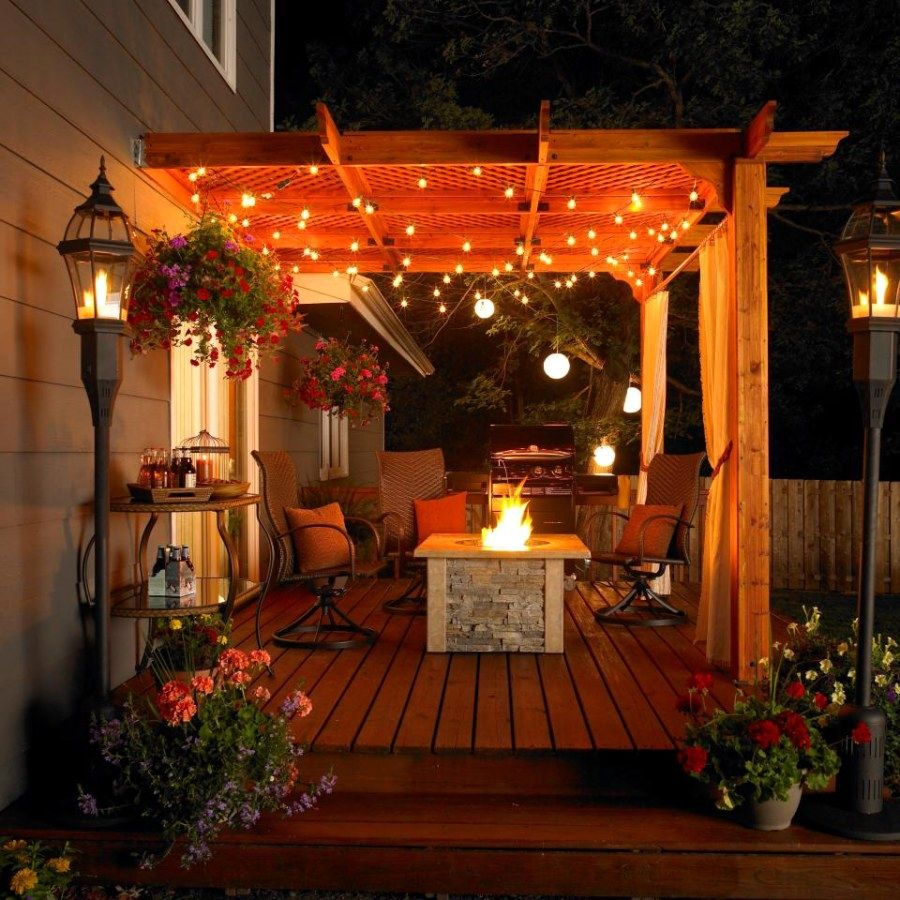 10 Awesome Diy Patio Light Projects You Can Do For Your Next Project Patio Accessories Outdoor Patio Lights Rustic Outdoor Decor