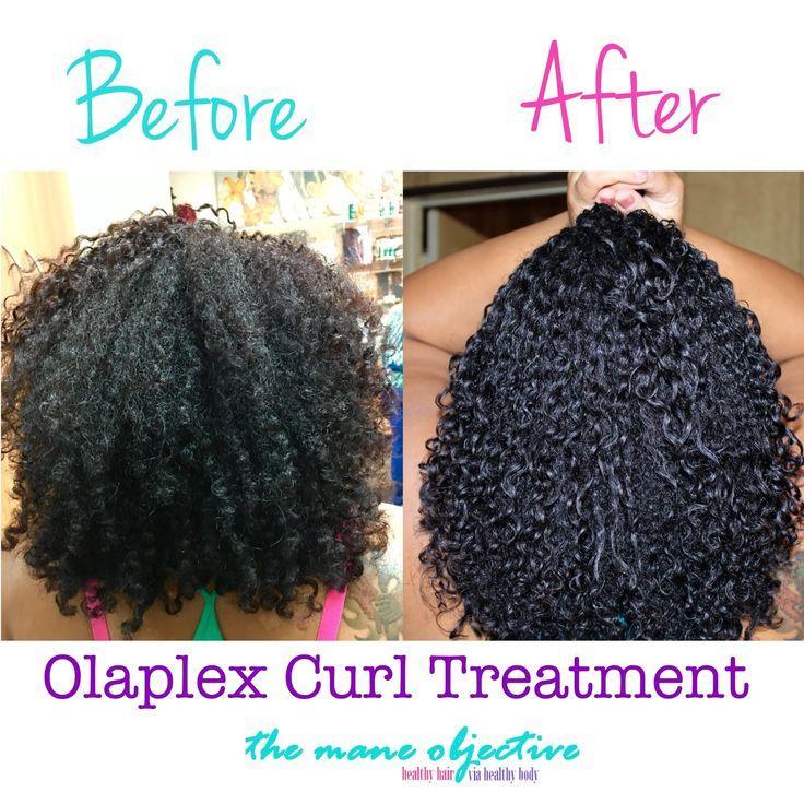 Does olaplex work on natural curly hair curly hair