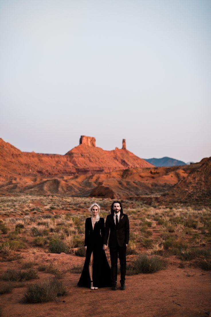 adventurous desert elopement in moab, utah #desertlife