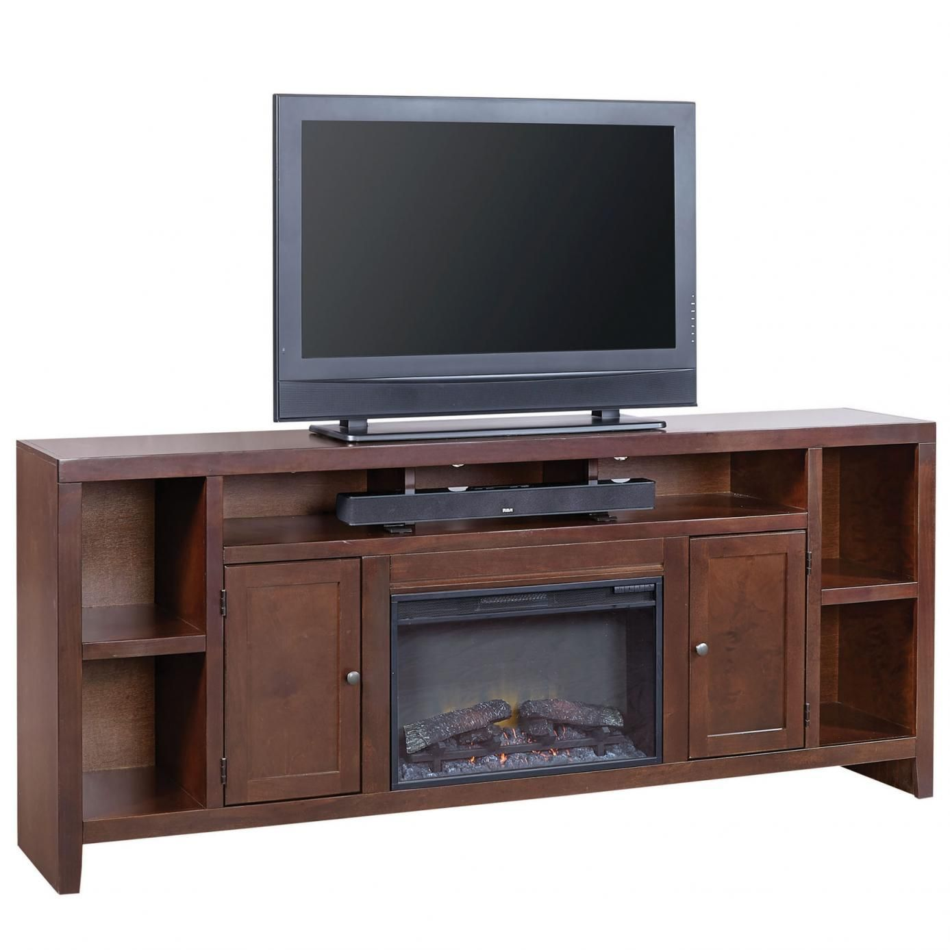 Aspenhome essentials lifestyle inch fireplace console furniture