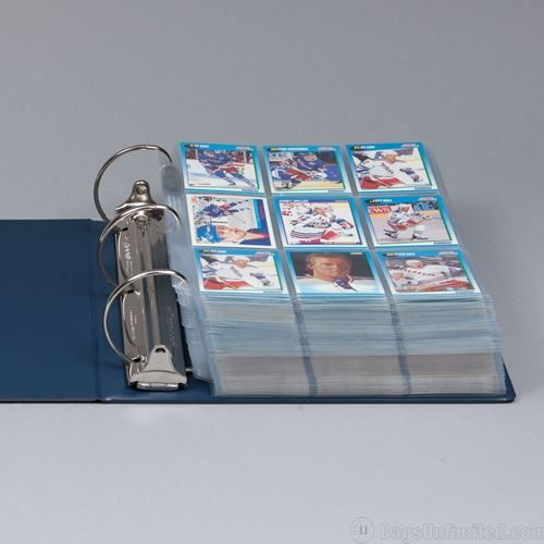 Binders Pages Trading Cards In 2019 Card Storage