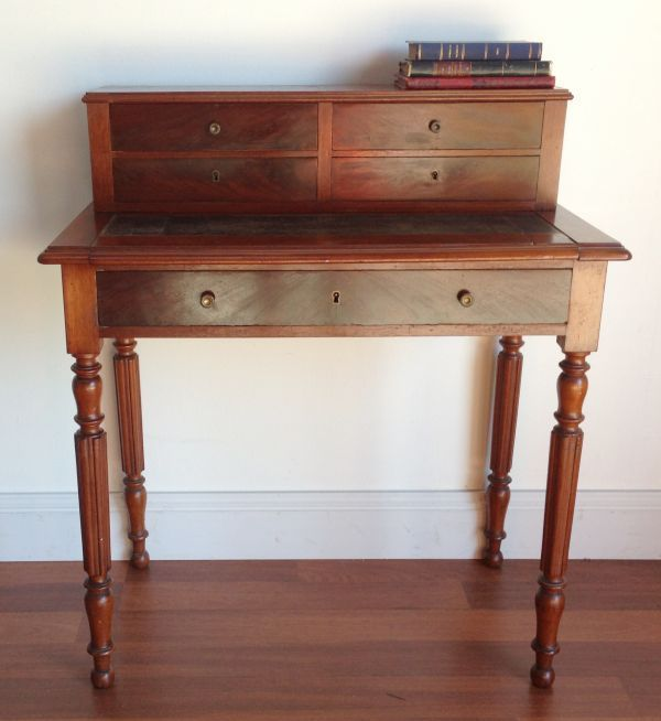 Antique French Mahogany Writing Desk Circa 1850 - Antique French Mahogany Writing Desk Circa 1850 Desks And