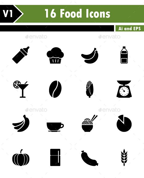 food icons vector eps baby green available here a https