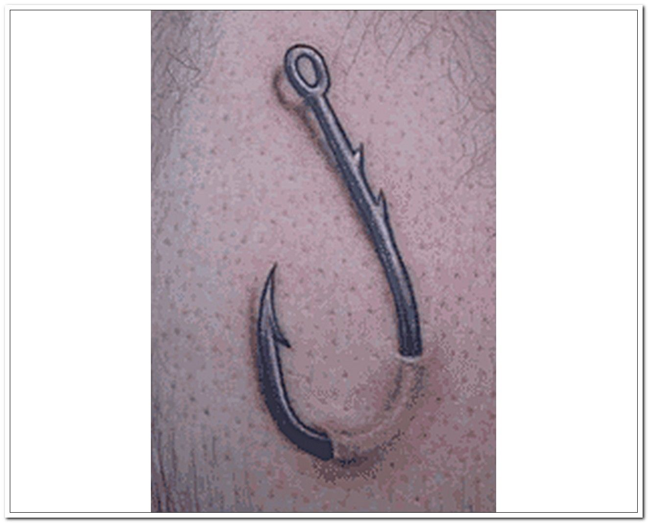 Fish Hook Tattoo To Go On My Neck Needs Some Line Included Fishing Hook Tattoo Hook Tattoo Tattoos