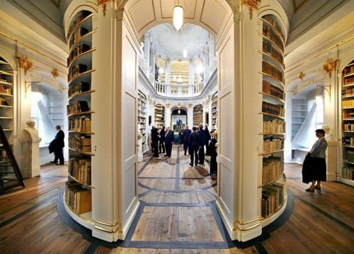 Collapsible Plans Duchess Anna Amalia Library In Germany