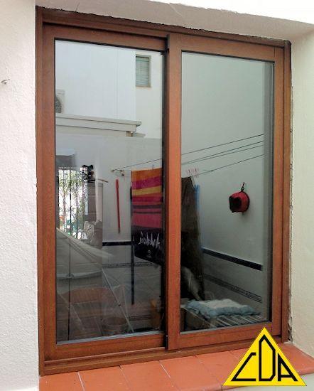 Puertas de terraza de aluminio canceleria puerta para - Puertas de aluminio para terrazas ...
