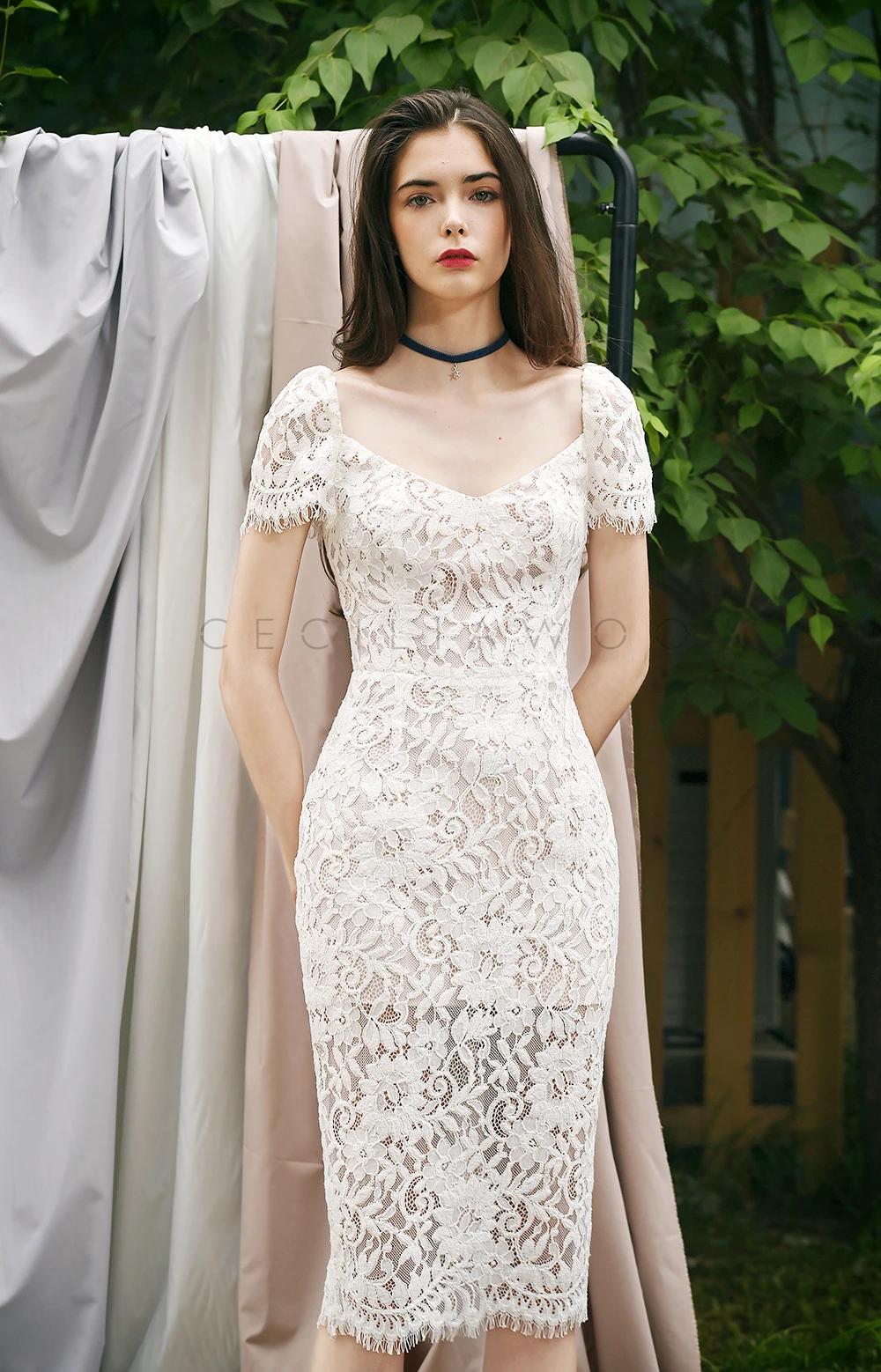 Vintage Style Midi Lace Dress White Lace Midi Dress Dresses Lace Dress [ 1558 x 1000 Pixel ]