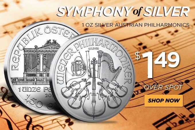 Austrian Philharmonic Silver One Ounce Dates of our Choice