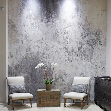 Home Dzine Feature Wall Ideas Combining Paint Plaster