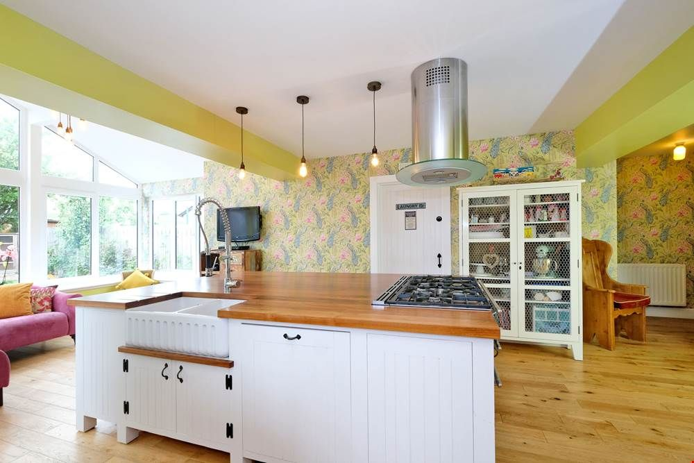 kitchens can be practical and fun this bright kitchen has been transformed with colourful walls on kitchen ideas quirky id=62113