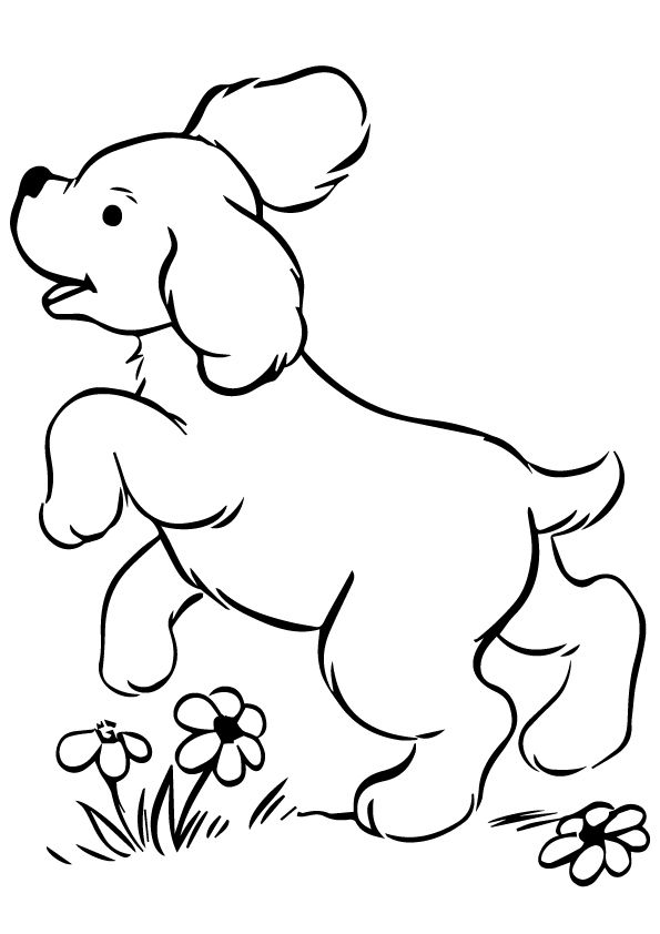 30 Cute Puppy Coloring Pages For Your Little Ones Puppy Coloring Pages Dog Coloring Page Animal Coloring Pages