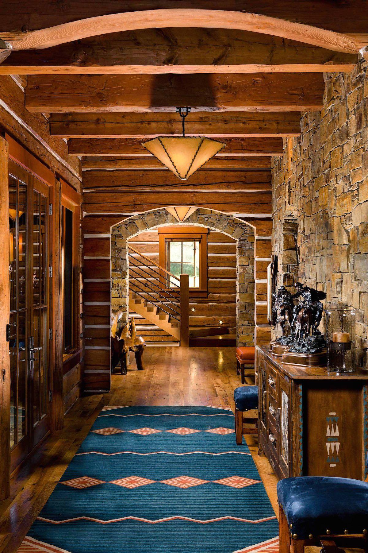 absolutely stunning log timber u0026 stone architecture