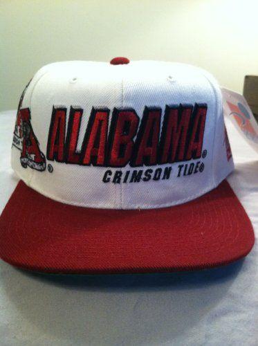 623c5bddaef050 Alabama Crimson Tide Vintage Sports Specialties Shadow-Script Snapback Hat