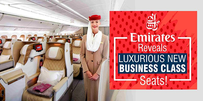 Get The Glimpse Of Emirates New Business Class Seats Business