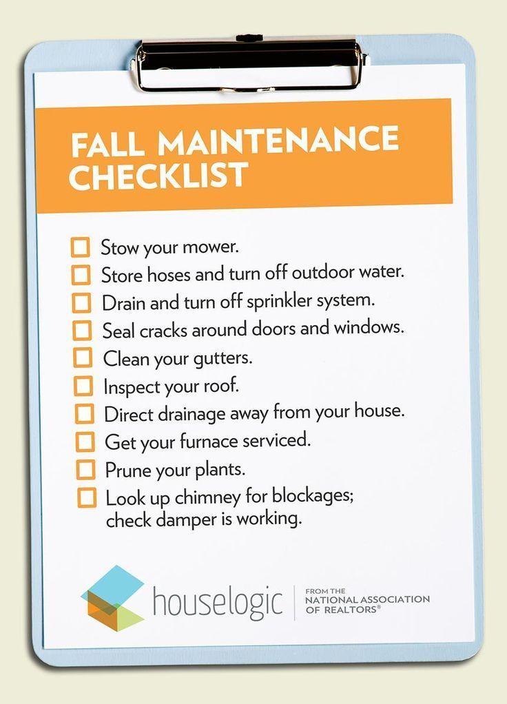 Photo of Eine Herbst-Checkliste mit 10 Dingen, die Sie tun müssen, bevor der Winter beginnt, #Checklist #Fall #fallhome …