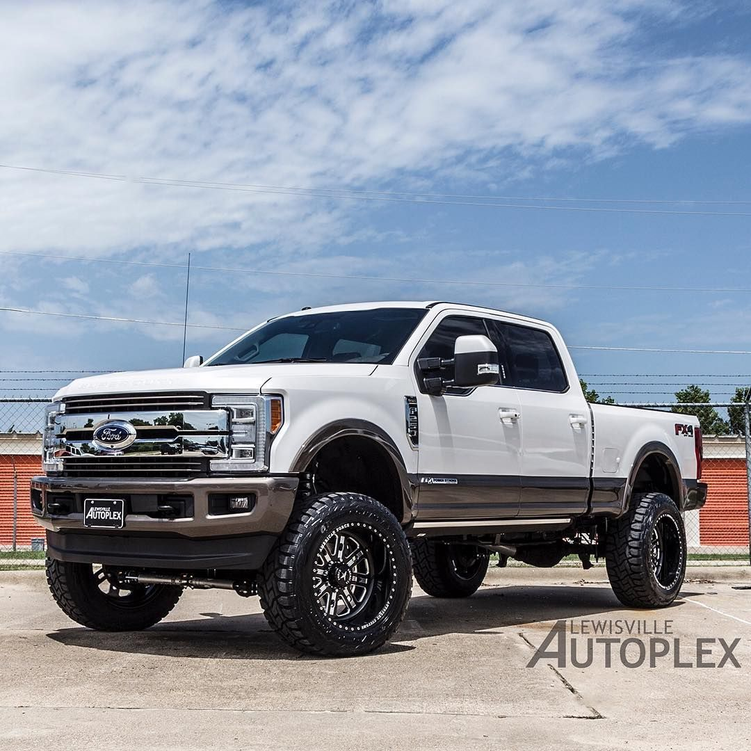 2017 ford f 250 king ranch 6 inch fts lift 22 inch american force wheels listed for sale at lewisvilleautoplex