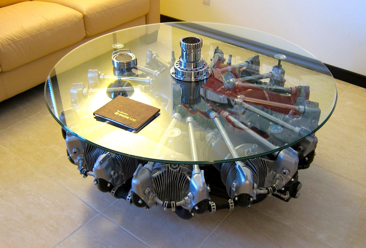 image for good engine block coffee table top gear i like. Black Bedroom Furniture Sets. Home Design Ideas