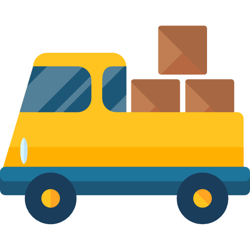 Delivery truck free vector icons designed by Roundicons ...