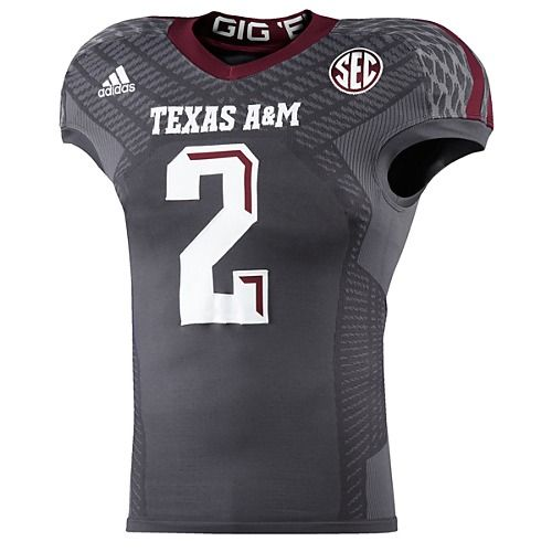 size 40 2c8fb 4923d image: adidas Texas A&M Strategy Techfit Jersey M82754 | Boy ...