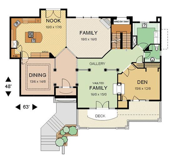 Floor Plan2 Big Jpg 550 523 Restaurant Floor Plan House Plans Floor Plan Design