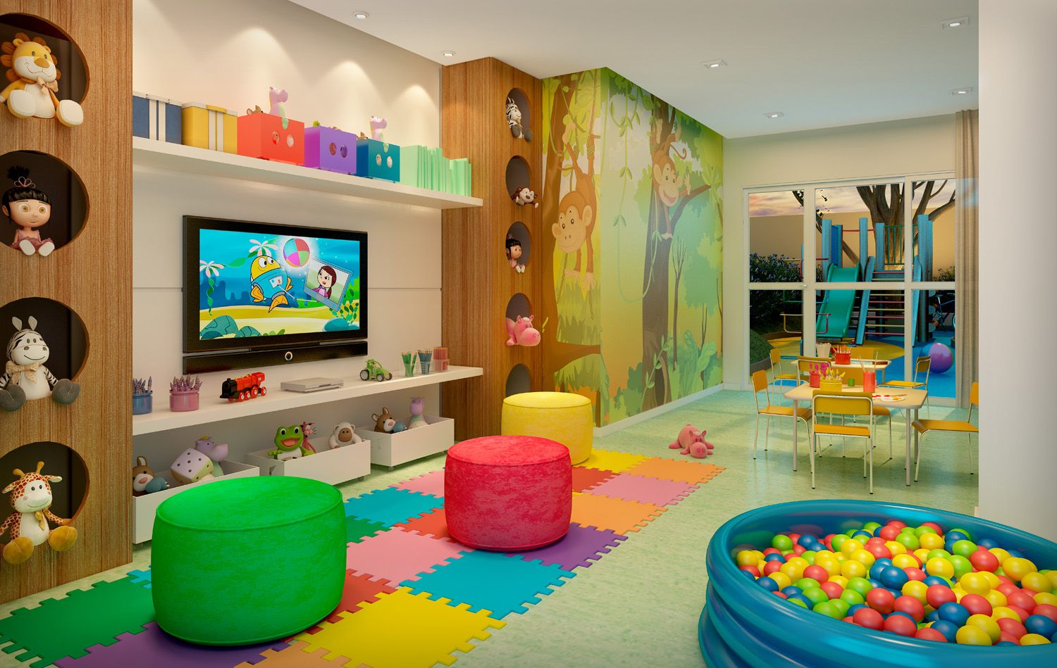 Ludoteca babies and children rooms pinterest for Decoracion hogares infantiles