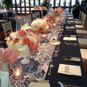 Inspirational Peach Wedding Decoration Ideas
