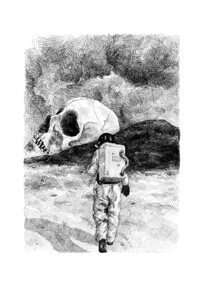 Thomas Pålsson – UntitledSerigrafi, 45 x 65cm. Oplag: 15. Pris: 1.200 kr.