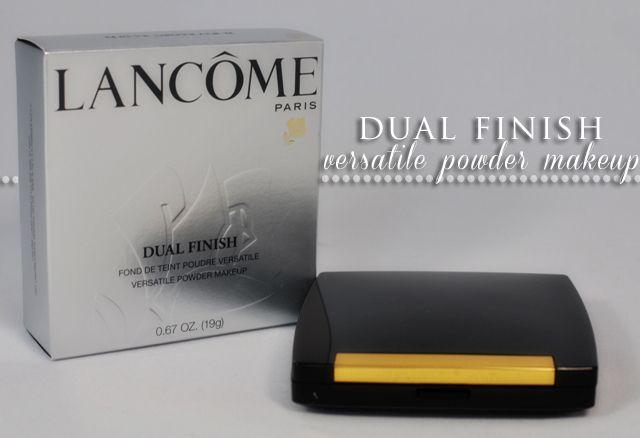 Lancome Dual Finish Versatile Powder Makeup- Review #makeup ...