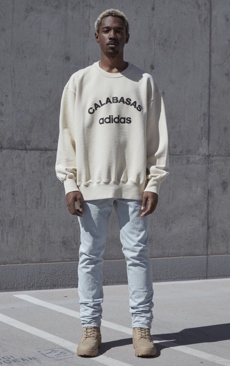 Pin By Marcelo Leo Graziano On Yeezy Season 5 Yeezy Outfit Calabasas Adidas Clothes [ 1194 x 750 Pixel ]