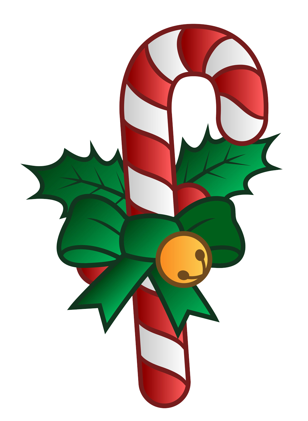Christmas Wishes Candy cane template, Christmas candy