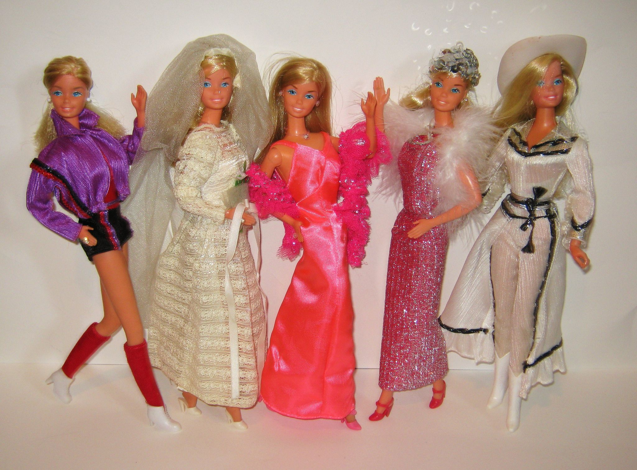 Vintage barbie beautiful bride fashion #9