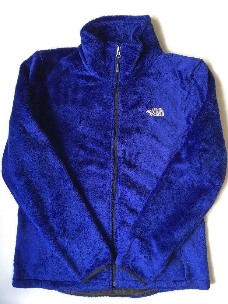 1894d23d9 NEW The North Face Womens Osito Fleece Zip Coat Winter Jacket Blue S ...